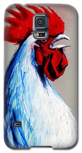 Rooster Head Galaxy S5 Case by Mona Edulesco