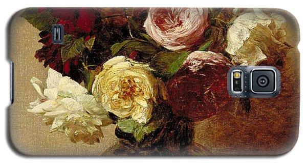 Roses Galaxy S5 Case by Ignace Henri Jean Fantin-Latour