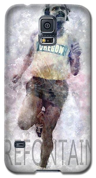 Running Legend Steve Prefontaine Galaxy S5 Case by Daniel Hagerman