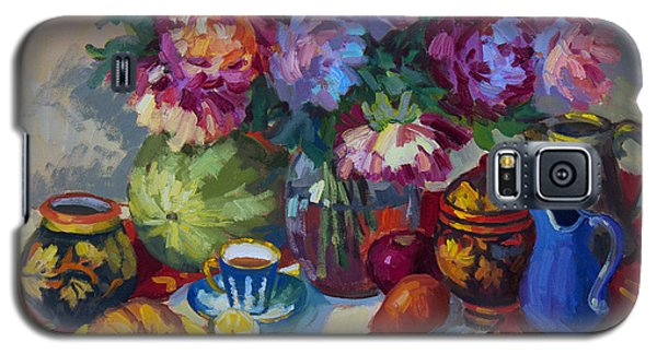 Russian Still Life Galaxy S5 Case by Diane McClary