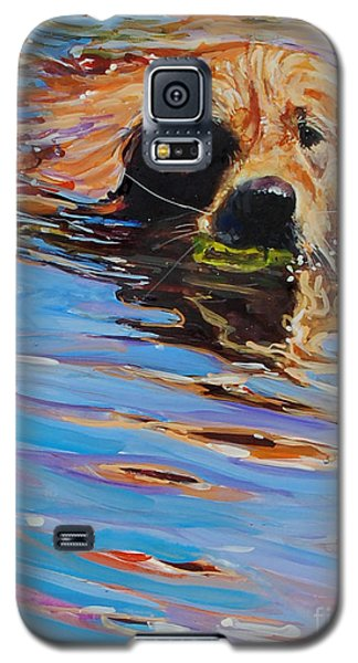 Sadie Has A Ball Galaxy S5 Case by Molly Poole