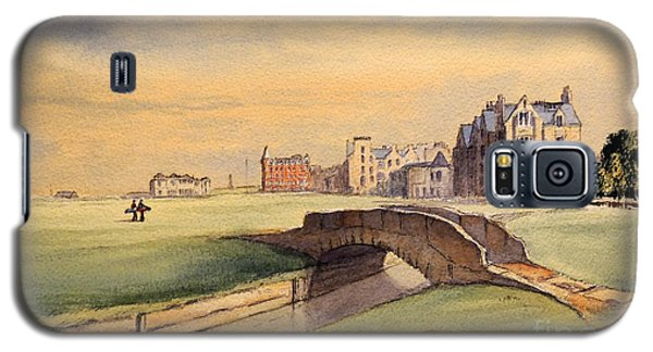 Saint Andrews Golf Course Scotland - 18th Hole Galaxy S5 Case by Bill Holkham