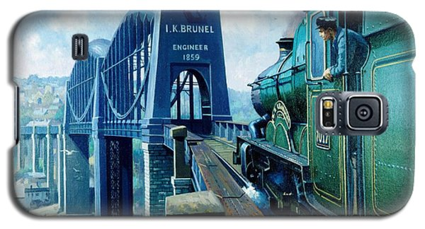 Saltash Bridge. Galaxy S5 Case by Mike  Jeffries