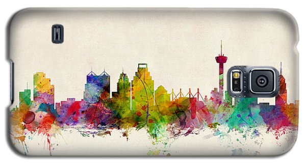 San Antonio Texas Skyline Galaxy S5 Case by Michael Tompsett