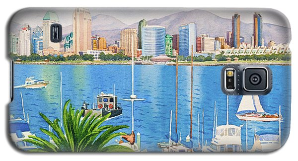 San Diego Fantasy Galaxy S5 Case by Mary Helmreich