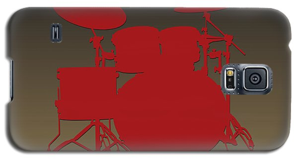 San Francisco 49ers Drum Set Galaxy S5 Case by Joe Hamilton