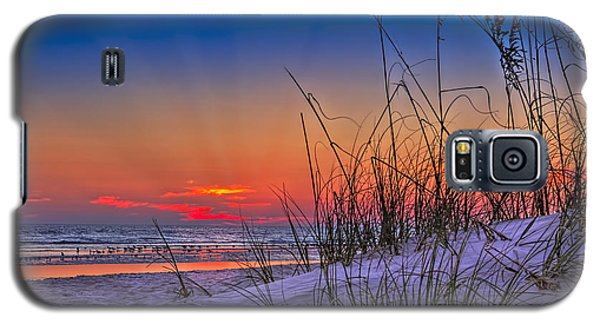 Sand And Sea Galaxy S5 Case by Marvin Spates