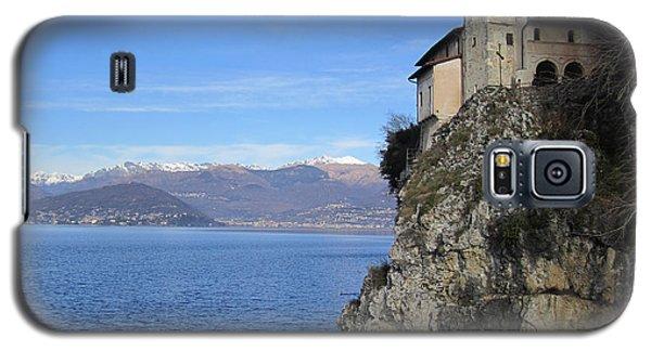 Galaxy S5 Case featuring the photograph Santa Caterina - Lago Maggiore by Travel Pics