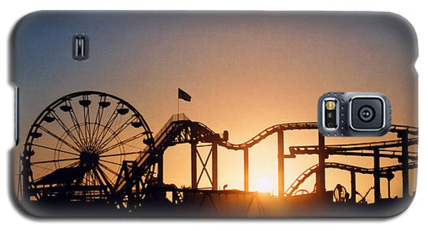 Santa Monica Pier Galaxy S5 Case by Art Block Collections