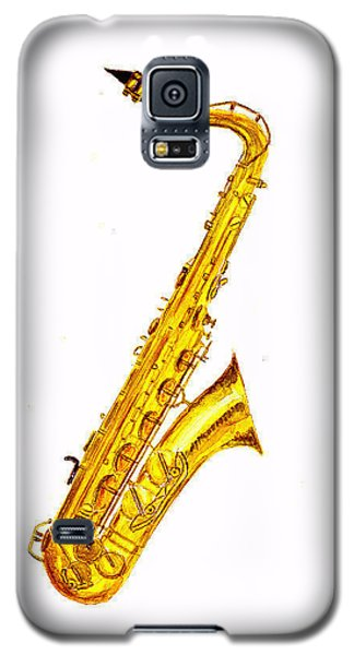 Saxophone Galaxy S5 Case by Michael Vigliotti