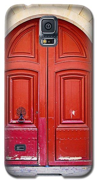 Red Galaxy S5 Cases - Scarlet Galaxy S5 Case by Melanie Alexandra Price