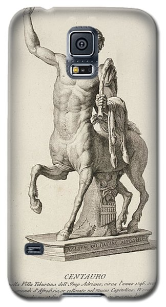 Sculpture Of Centaur From Italy Galaxy S5 Case by British Library