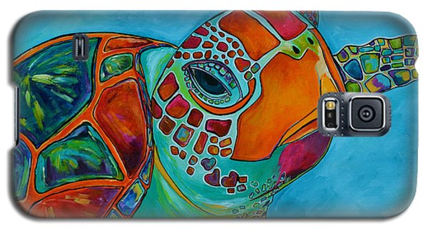 Seaglass Sea Turtle Galaxy S5 Case by Patti Schermerhorn