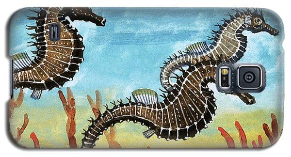 Seahorses Galaxy S5 Case by English School
