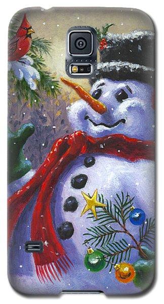 Seasons Greetings Galaxy S5 Case by Richard De Wolfe