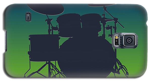 Seattle Seahawks Drum Set Galaxy S5 Case by Joe Hamilton