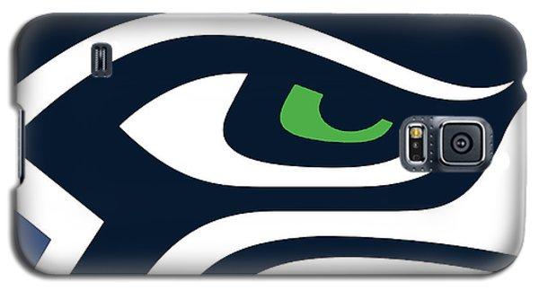 Seattle Seahawks Galaxy S5 Case by Tony Rubino