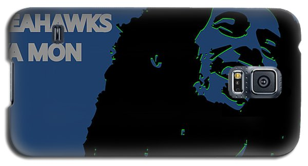 Seattle Seahawks Ya Mon Galaxy S5 Case by Joe Hamilton