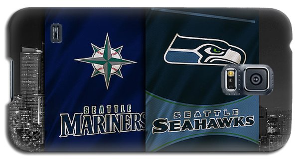 Seattle Sports Teams Galaxy S5 Case by Joe Hamilton