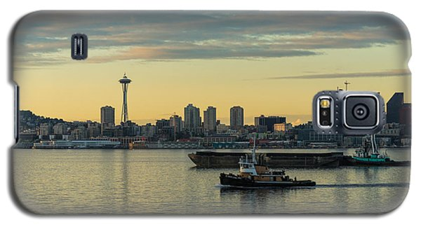 Seattles Working Harbor Galaxy S5 Case by Mike Reid