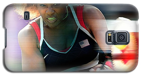 Serena Williams Galaxy S5 Case by Marvin Blaine