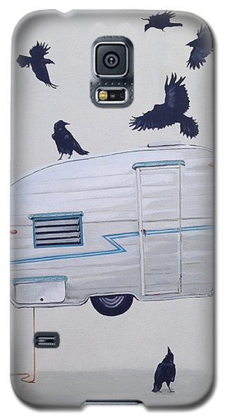 Seven Crows And A Canned Ham Galaxy S5 Case by Jeffrey Bess