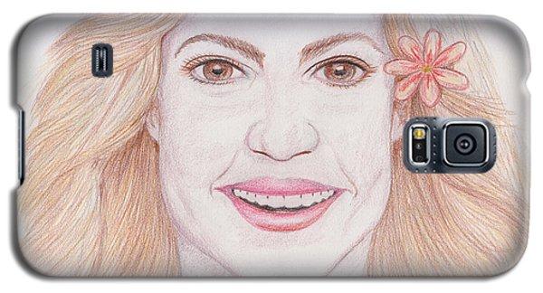 Shakira Galaxy S5 Case by M Valeriano