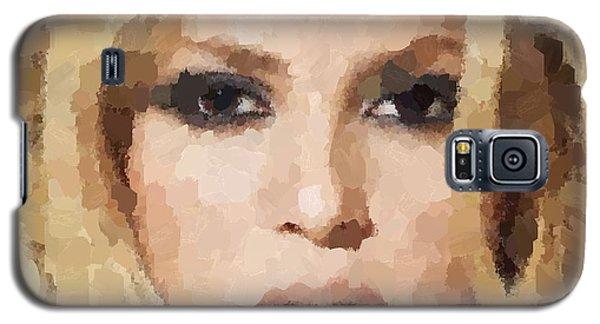 Shakira Portrait Galaxy S5 Case by Samuel Majcen