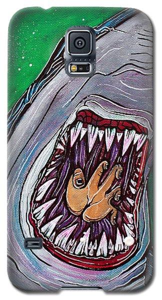 Shark Kill Zone Galaxy S5 Case by Laura Barbosa