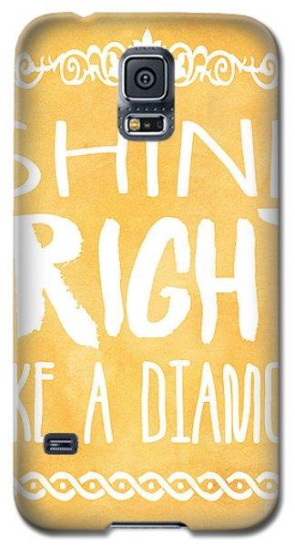 Shine Bright Orange Galaxy S5 Case by Pati Photography