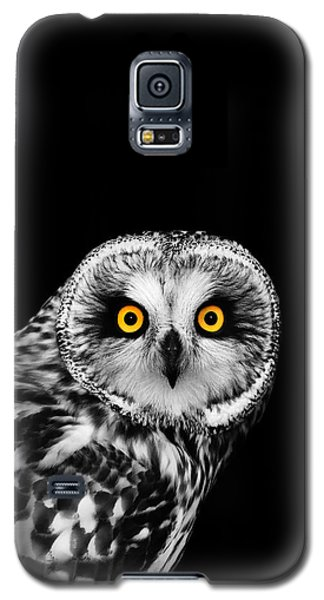 Short-eared Owl Galaxy S5 Case by Mark Rogan