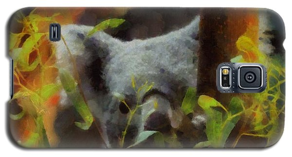 Shy Koala Galaxy S5 Case by Dan Sproul
