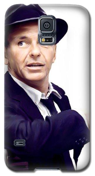 Sinatra.  Frank Sinatra Galaxy S5 Case by Iconic Images Art Gallery David Pucciarelli