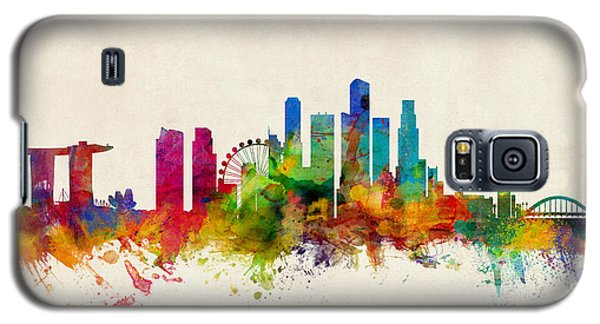 Recently Sold -  - Buy Galaxy S5 Cases - Singapore Skyline Galaxy S5 Case by Michael Tompsett