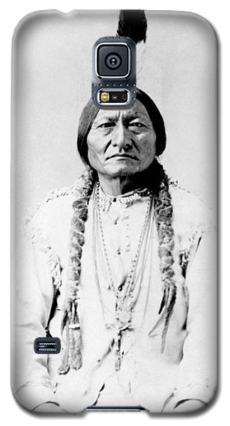 Landmarks Galaxy S5 Cases - Sioux Chief Sitting Bull Galaxy S5 Case by War Is Hell Store