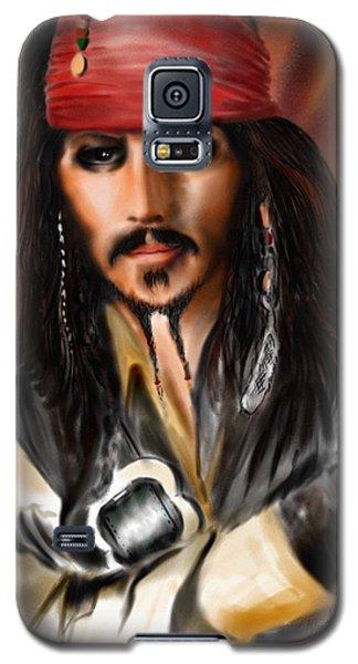 Sketching A Pirate... Galaxy S5 Case by Alessandro Della Pietra