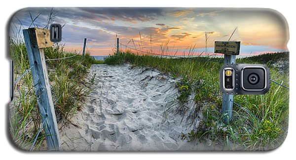 Sleeping Bear National Lakeshore Sunset Galaxy S5 Case by Sebastian Musial
