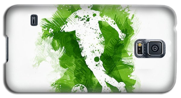 Soccer Player Galaxy S5 Case by Aged Pixel