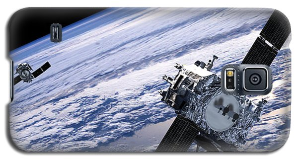 Solar Terrestrial Relations Observatory Satellites Galaxy S5 Case by Anonymous