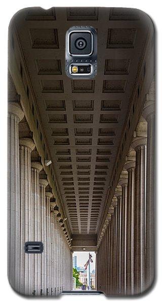 Soldier Field Colonnade Galaxy S5 Case by Steve Gadomski