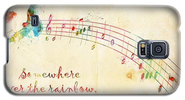 Bird Galaxy S5 Cases - Somewhere Over the Rainbow Galaxy S5 Case by Nikki Smith