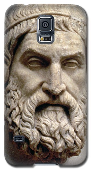 Sculptures Galaxy S5 Cases - Sophocles Galaxy S5 Case by Greek School