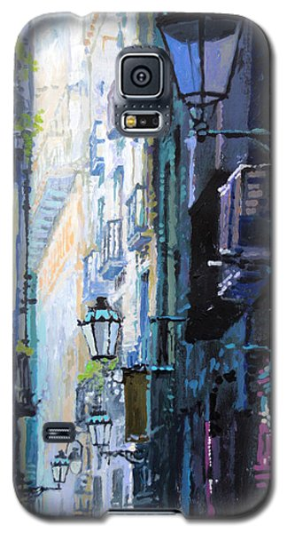 Spain Series 06 Barcelona Galaxy S5 Case by Yuriy Shevchuk