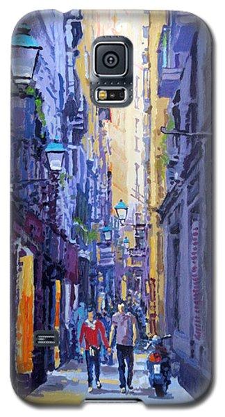 Spain Series 10 Barcelona Galaxy S5 Case by Yuriy Shevchuk