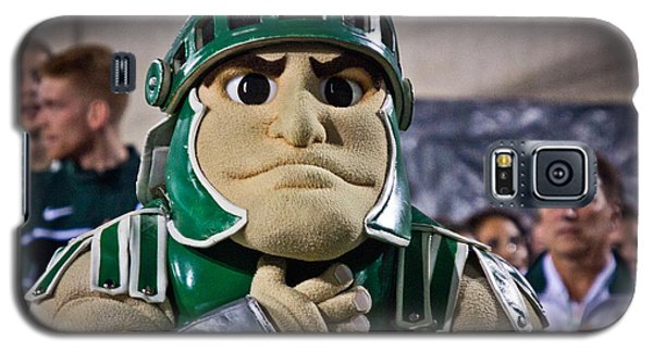 Sparty And Izzo National Anthem  Galaxy S5 Case by John McGraw