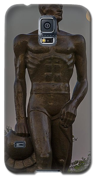 Sparty And Moon Galaxy S5 Case by John McGraw