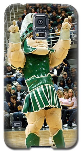 Sparty At Basketball Game  Galaxy S5 Case by John McGraw