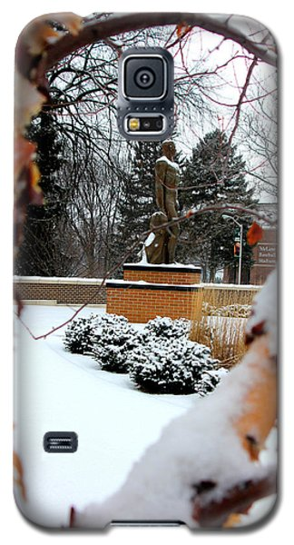 Sparty In The Winter Galaxy S5 Case by John McGraw