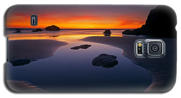 Seascape Galaxy S5 Cases - Stacks and Stones Galaxy S5 Case by Mike  Dawson