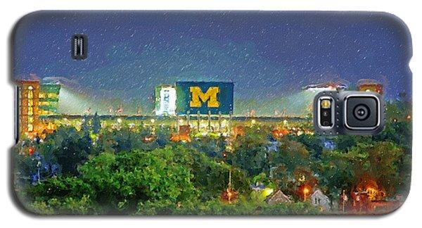 Stadium At Night Galaxy S5 Case by John Farr
